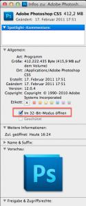 PS im 32-Bit Modus