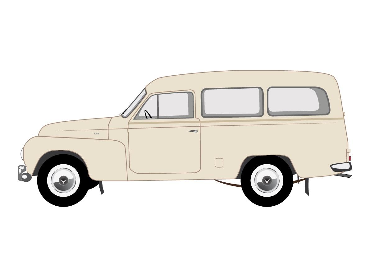 Volvo Duett - P210